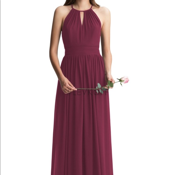 8b3bb721556 Bill Levkoff Dresses   Skirts - Bill Levkoff Bridesmaid Dress Wine Style   7002
